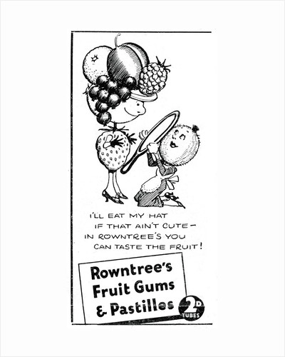Rowntree's Fruit Gums and Pastilles by Anonymous