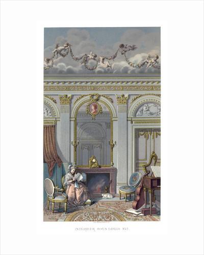 Interior Under Louis XVI by Durin
