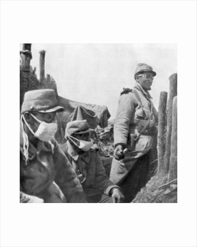 Gas protection, France, World War I by Anonymous