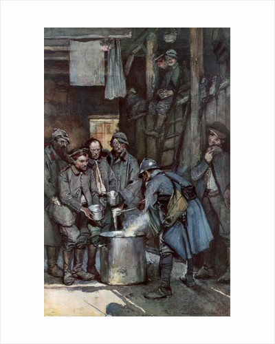 'German prisoners in Souville', Verdun, France by Anonymous