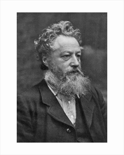 William Morris, English artist, writer, socialist activist and pioneer of eco-socialism by Emery Walker Ltd