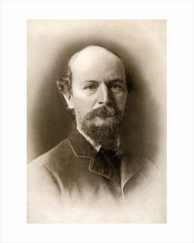 Algernon Charles Swinburne, Victorian era English poet by Elliott & Fry