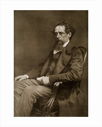 Charles Dickens, 19th century English author by Anonymous