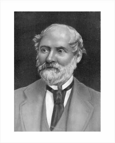 Charles Reade, 19th century English novelist and dramatist by Anonymous