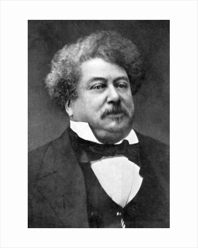 Alexandre Dumas, 19th century French author by Anonymous