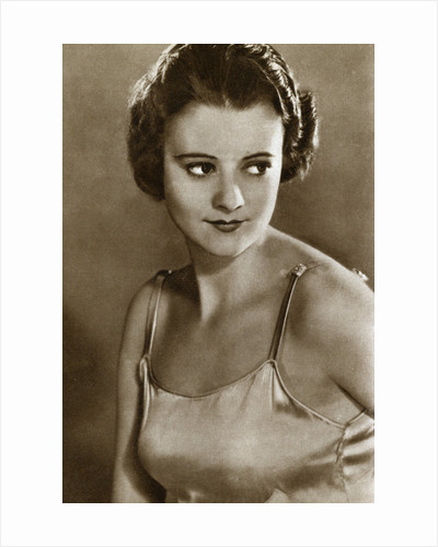 Heather Angel, English film actress by Anonymous