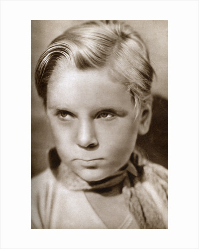 Jackie Cooper, American actor and television director and producer by Anonymous