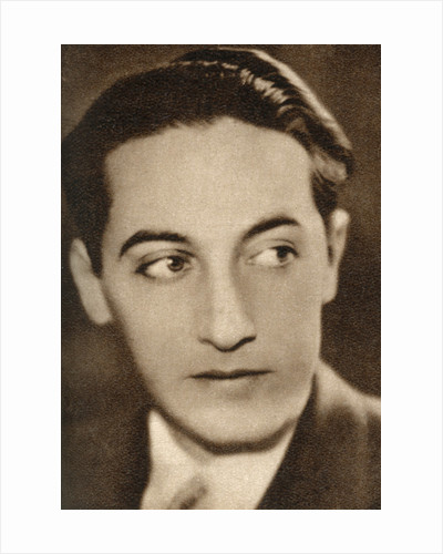 Irving Thalberg, American film producer by Anonymous