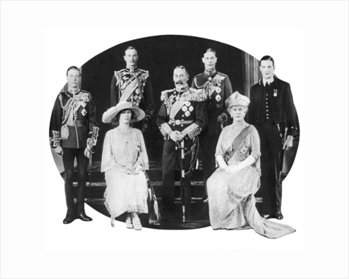 King George V and his family by Anonymous