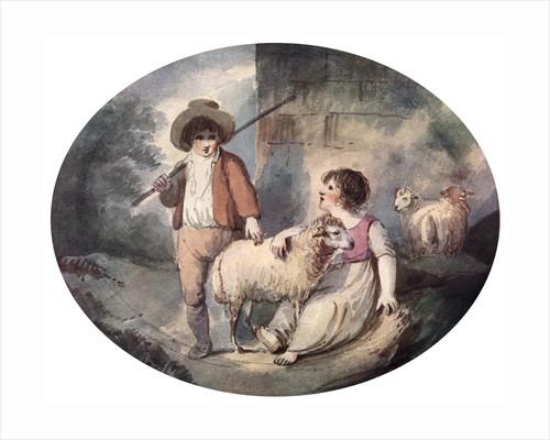 The Little Shepherdess by Francis Wheatley