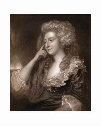 Mrs Fitzherbert' by J Scott