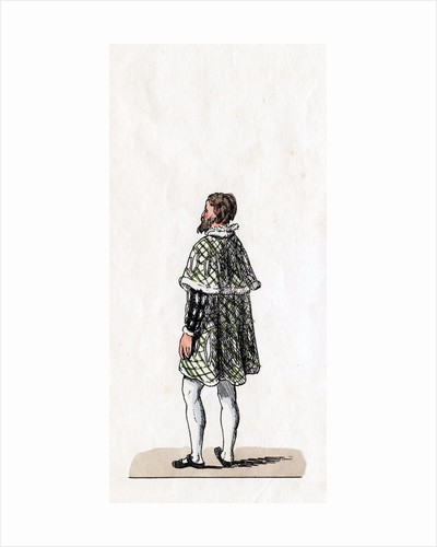 Nobleman, costume design for Shakespeare's play, Henry VIII by Anonymous
