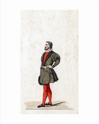 Theatre costume design for Shakespeare's play, Henry VIII by Anonymous