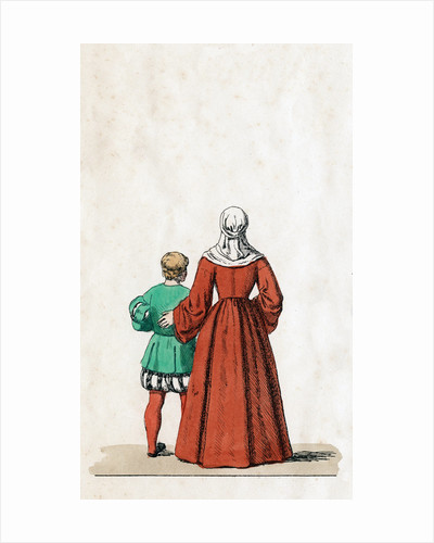 Theatre costume designs for Shakespeare's play, Henry VIII by Anonymous