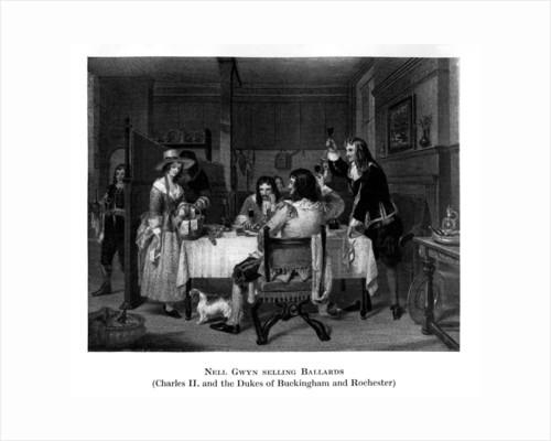 Nell Gwyn selling Ballards by Anonymous