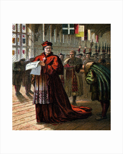 Cardinal Wolsey by Anonymous