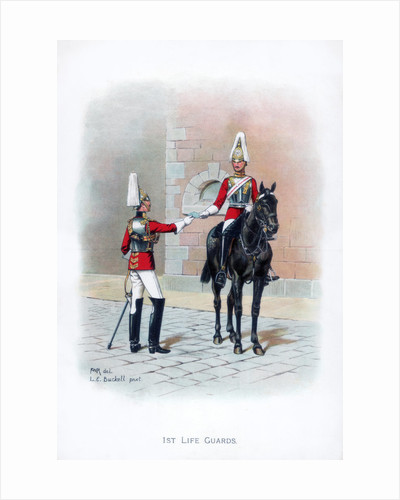 1st Life Guards by LE Buckell