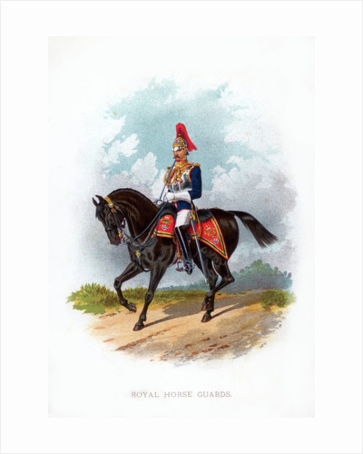 Royal Horse Guard by Anonymous