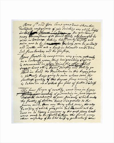 Notes by William Hogarth by William Hogarth