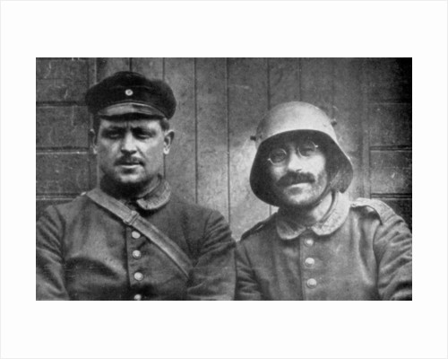 German prisoners taken by Canadian forces, Vimy, France, First World War by Anonymous