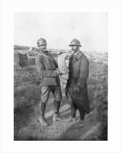 Body armour of the German Sturmtruppen (Storm Troops), Verdun by Anonymous