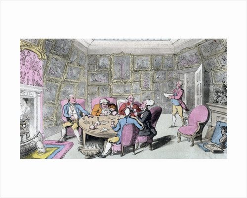 Doctor Syntax with My Lord by Thomas Rowlandson