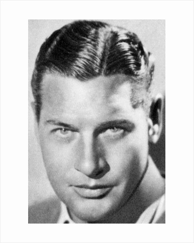 Richard Arlen, American actor by Anonymous