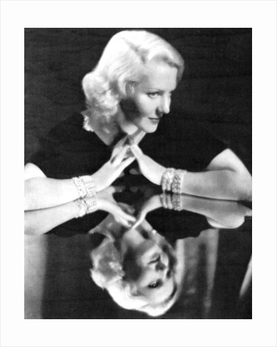 Jean Arthur, American actress by Anonymous