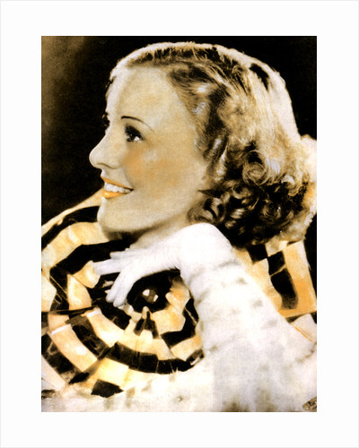 Pat Paterson, British actress by Anonymous