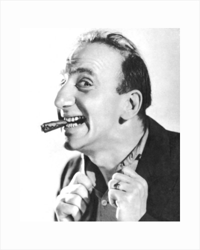 Jimmy Durante, American singer, pianist, actor and comedian by Anonymous