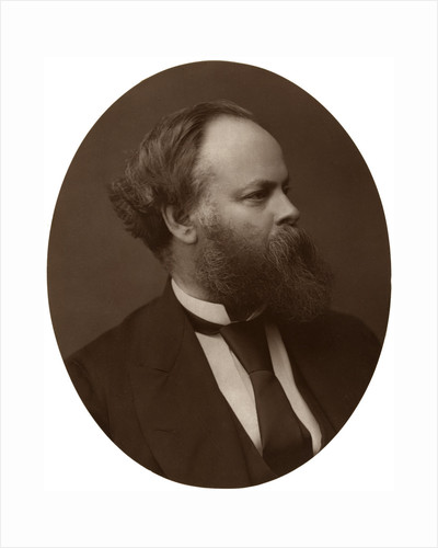 Samuel Plimsoll, Esq, MP, British Liberal politician and social reformer by Lock & Whitfield