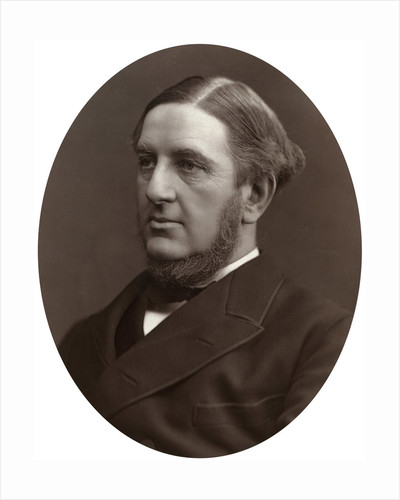 Sir William Vernon Harcourt QC, MP, Professor of International Law at Cambridge University by Lock & Whitfield