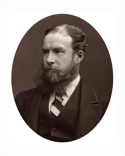 Sir John Lubbock, Bart, MP, FRS, Vice-Chancellor of the University of London by Lock & Whitfield