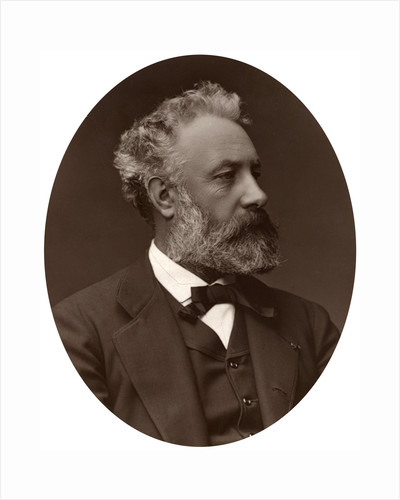 Jules Verne, French novelist by Lock & Whitfield