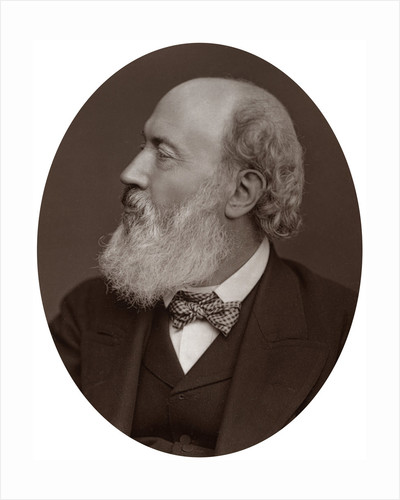 Sir John Gilbert, RA, President of the Society of Painters in Water-Colours by Lock & Whitfield