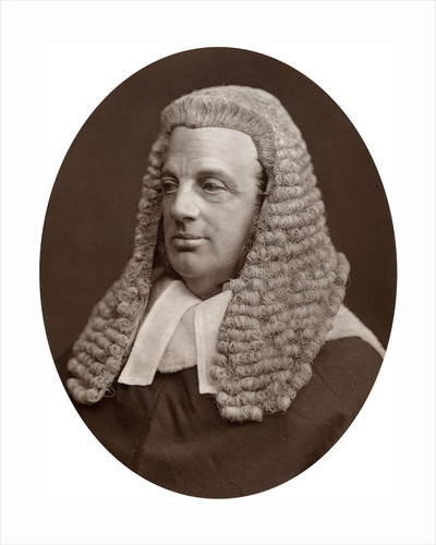 Right Hon Sir William Baliol Brett, Judge of the Court of Appeal by Lock & Whitfield