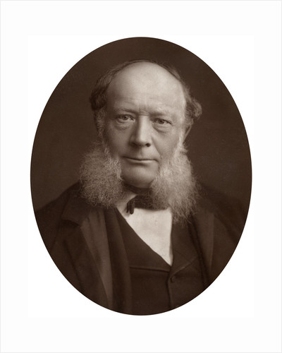 Charles William Siemens, DCL, FRS, German electrical engineer and inventor by Lock & Whitfield