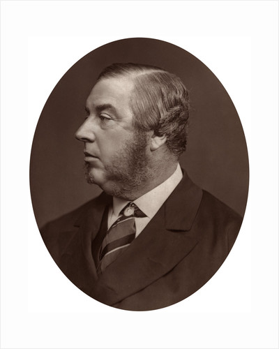 George Sclater-Booth MP, President of Local Government Board by Lock & Whitfield
