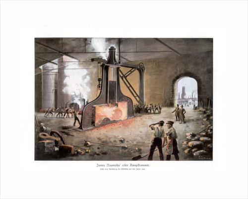 James Nasmyth's steam hammer by E Zimmer