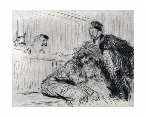 The Lawyer Speaking with the Prevenu by Jean Louis Forain