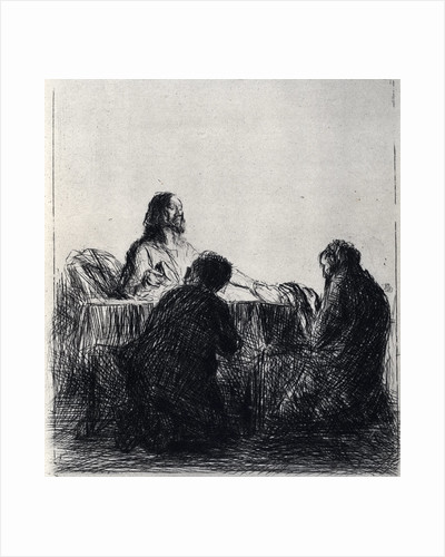 Breaking of the Bread by Jean Louis Forain