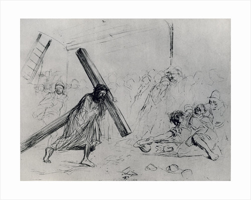 Christ Carrying the Cross by Jean Louis Forain