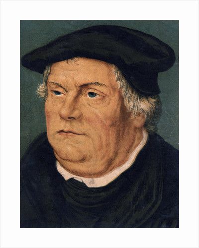 Martin Luther, 16th century German Protestant reformer by Anonymous
