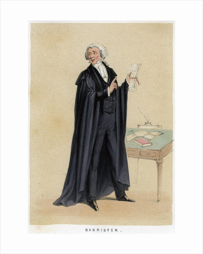 Barrister by Anonymous