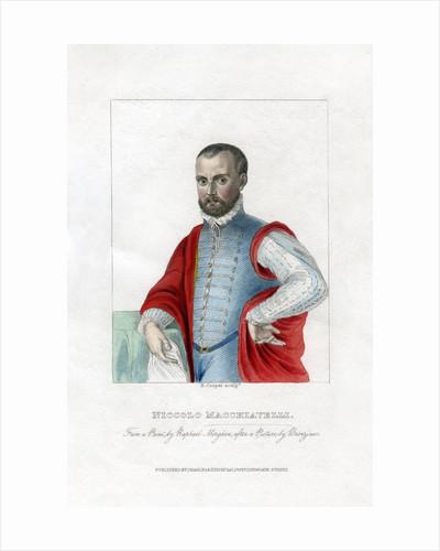 Niccolo Machiavelli, Italian Renaissance political philosopher by R Cooper