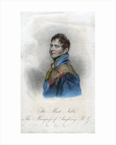 Henry William Paget, 1st Marquess of Anglesey, British soldier by Thomson