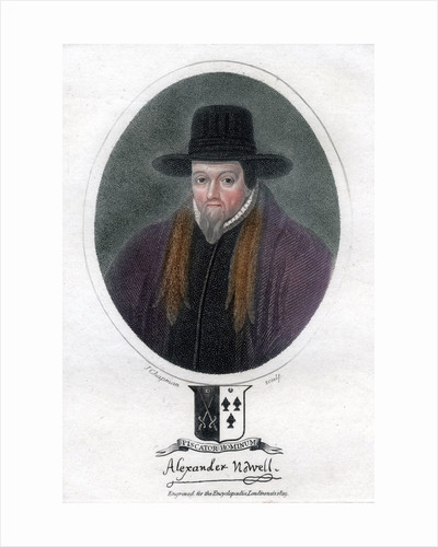 Alexander Nowell, English clergyman and theologian by J Chapman