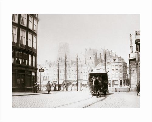 Horse-drawn tram, Rotterdam by James Batkin