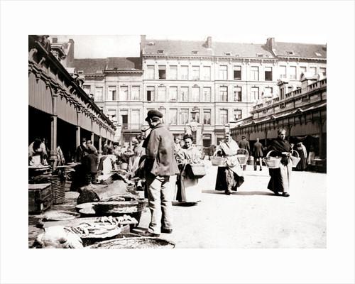 Market stalls, Antwerp by James Batkin