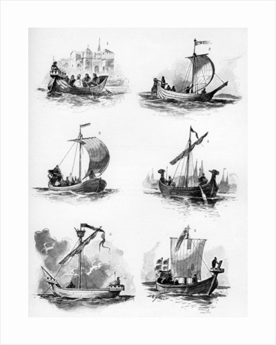 Ships of the Hanseatic League of the 14th and 15th century by Willy Stower